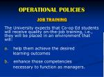 operational policies4