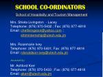school co ordinators1