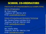 school co ordinators2