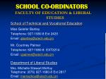 school co ordinators3