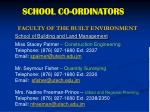 school co ordinators4