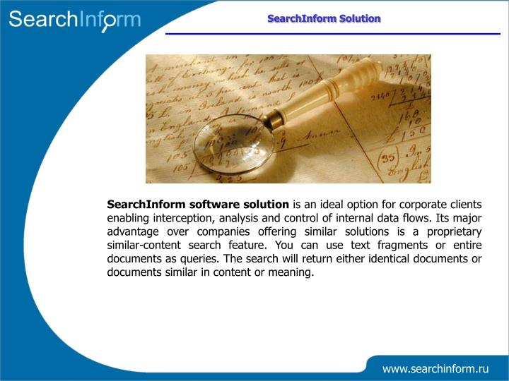 SearchInform Solution