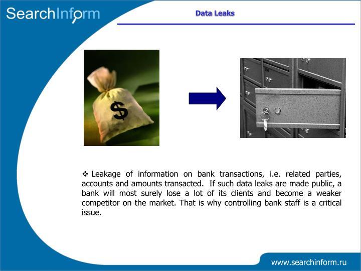 Data Leaks