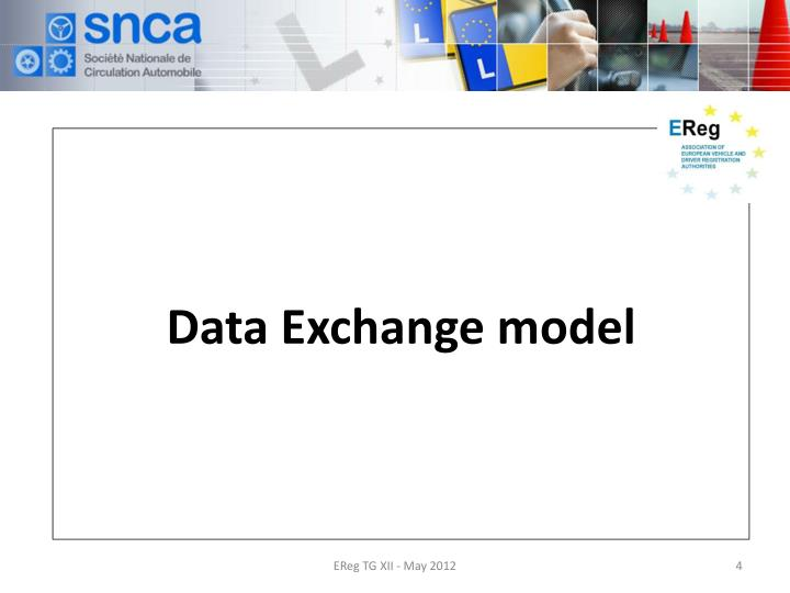 Data Exchange model
