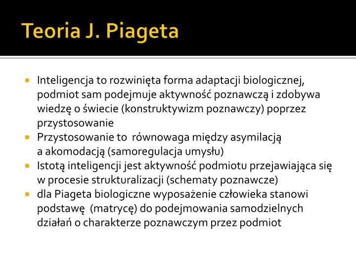 Teoria J. Piageta