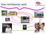 how remittances work