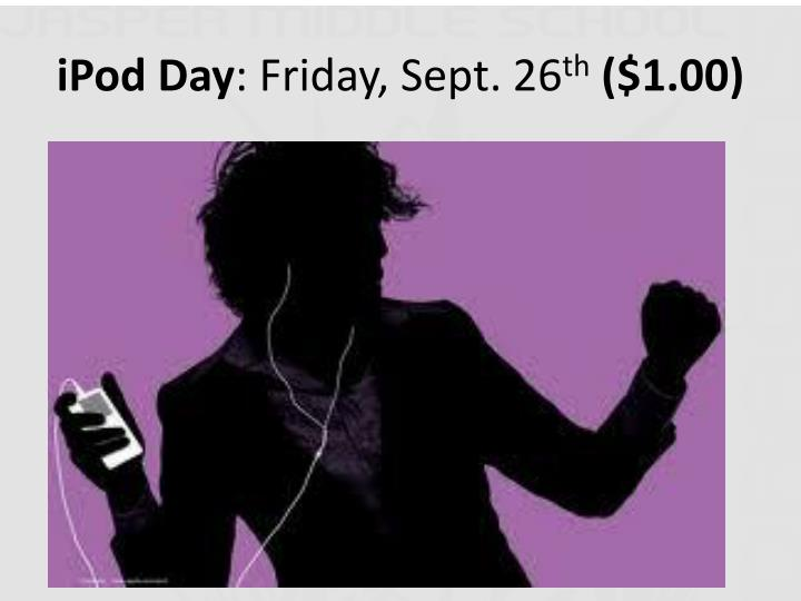 iPod Day