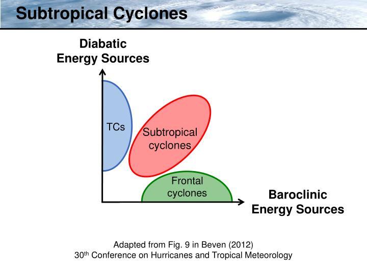 Subtropical Cyclones