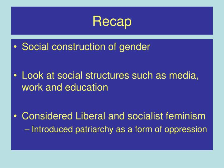 examining gender as a social structure Morris criticise can the subaltern speak by packul in browse politics & current affairs society ethnicity, race & gender.