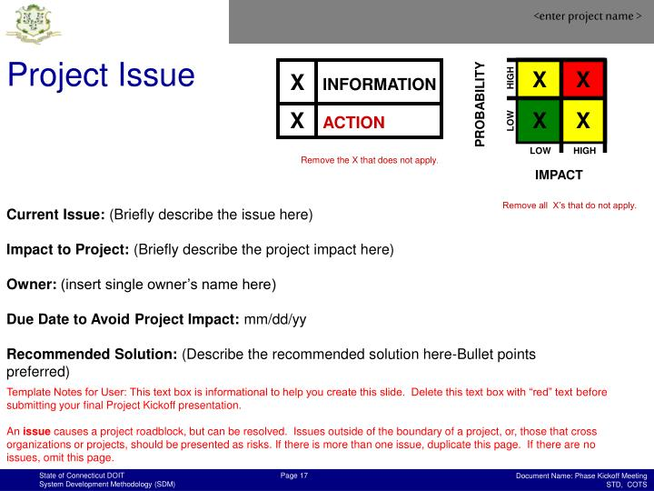 Project Issue