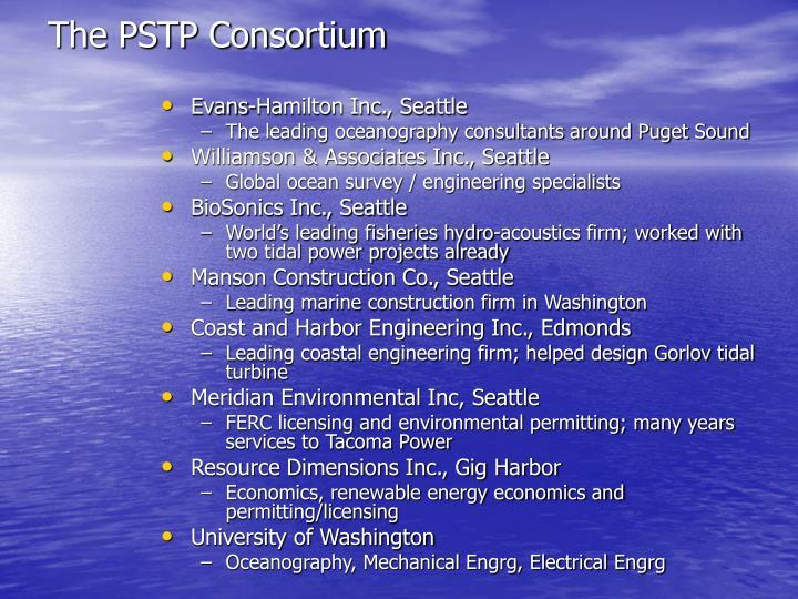 The PSTP Consortium