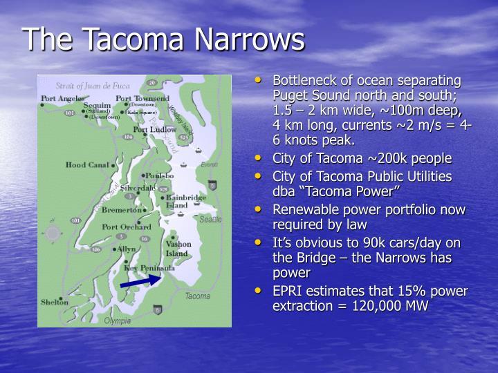 The Tacoma Narrows
