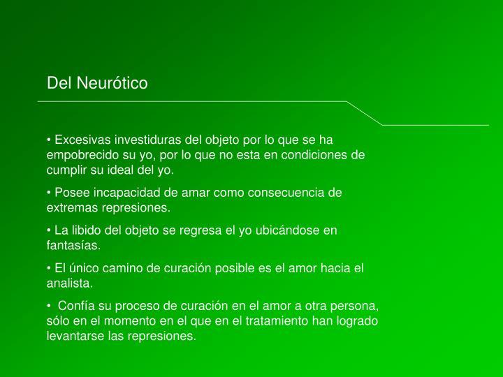 Del Neurótico