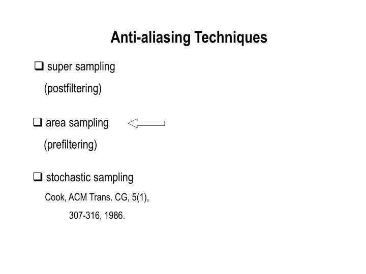 Anti-aliasing Line (Cont')
