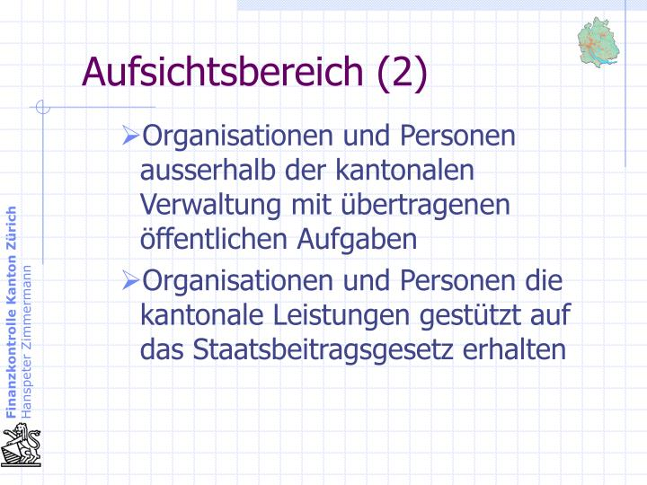 Aufsichtsbereich (2)