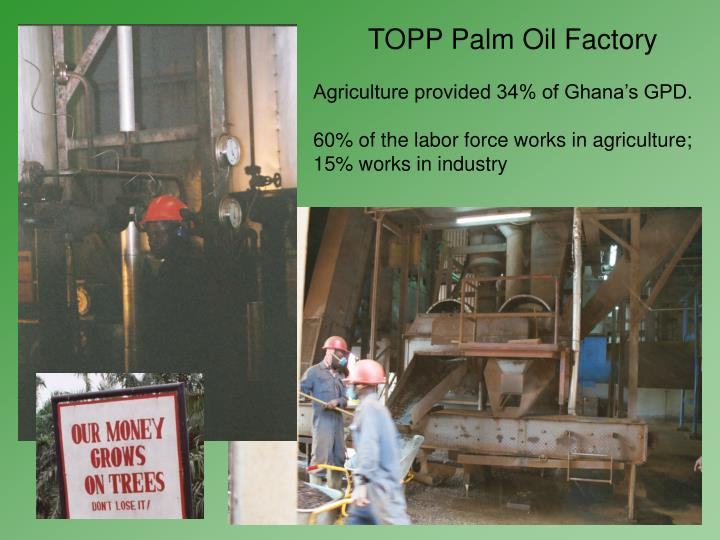 TOPP Palm Oil Factory