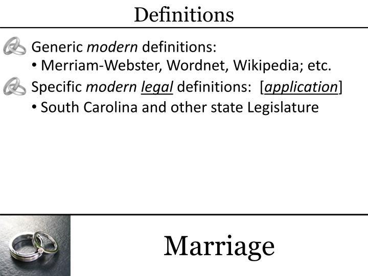 Quasi state define marriage