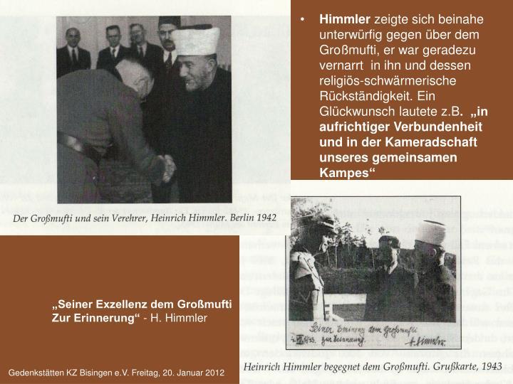 Himmler/Mufti