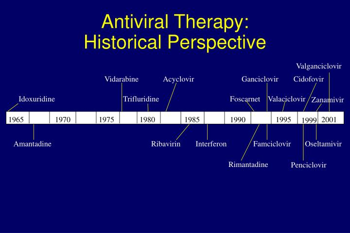 Antiviral Therapy: