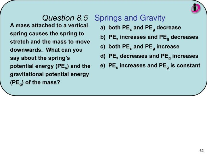 Question 8.5