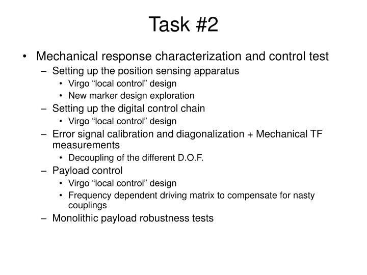 Task #2