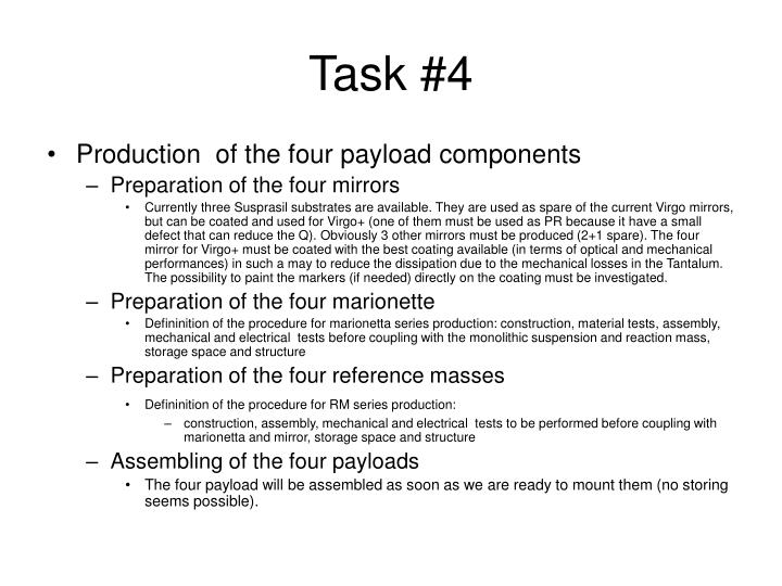 Task #4
