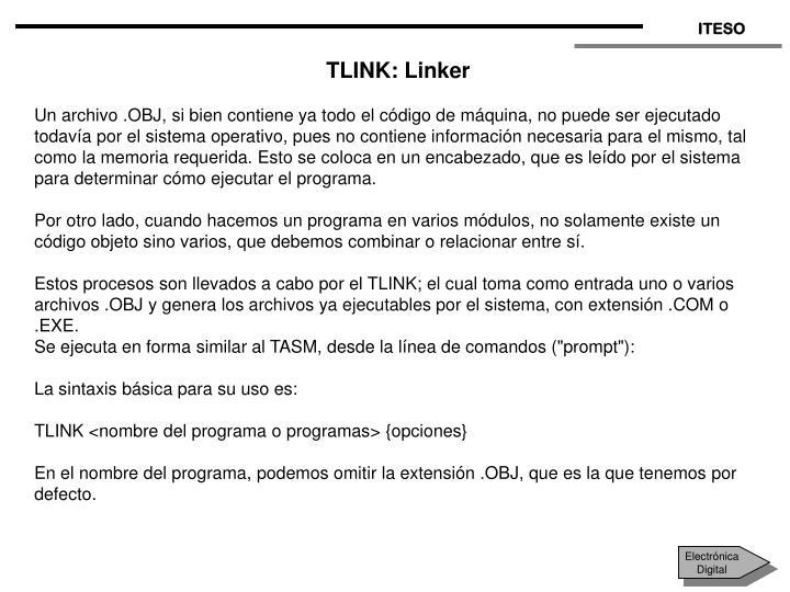 TLINK: Linker