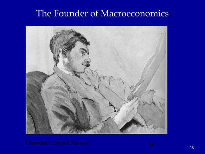 The Founder of Macroeconomics