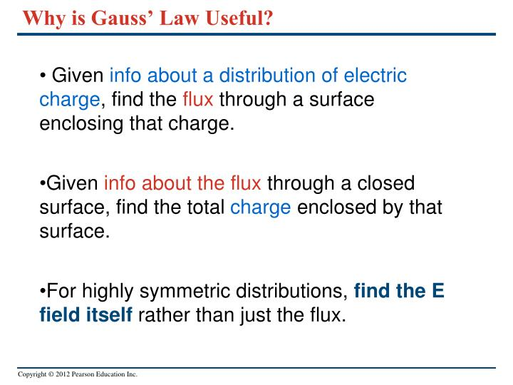Why is Gauss' Law Useful?