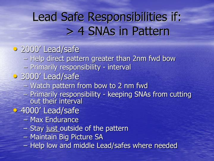 Lead Safe Responsibilities if: