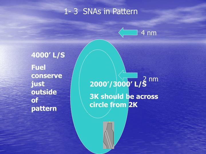 1- 3  SNAs in Pattern