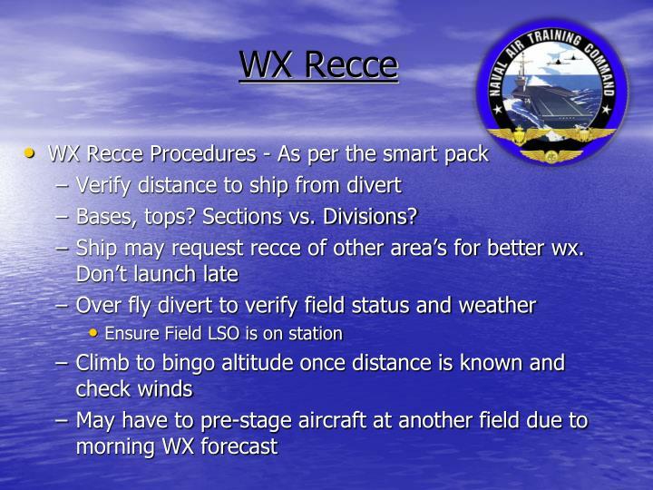 WX Recce