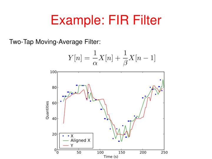 Example: FIR Filter