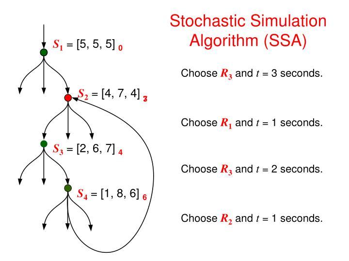 Stochastic Simulation Algorithm (SSA)