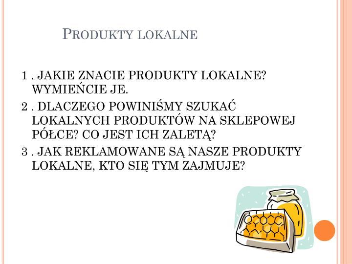 Produkty lokalne