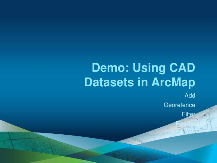 Demo: Using CAD Datasets in