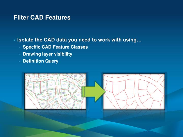 Filter CAD Features