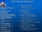 2011 board members