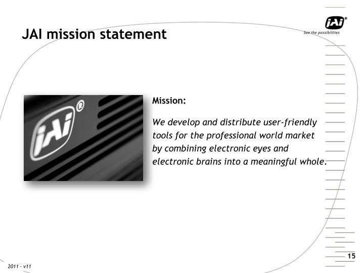 JAI mission statement