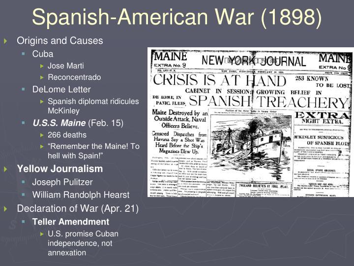 Spanish-American War (1898)