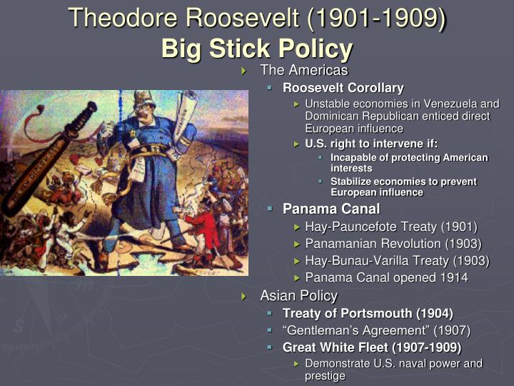 Theodore Roosevelt (1901-1909)