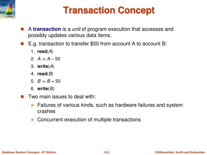 Transaction Concept