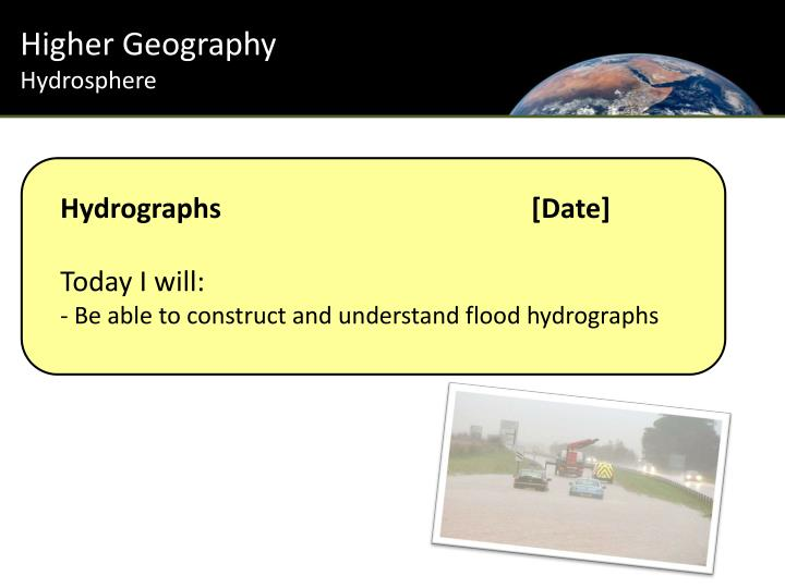 Hydrographs date today i will be able to construct and understand flood hydrographs