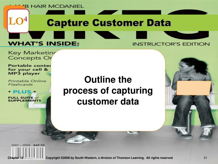 Capture Customer Data