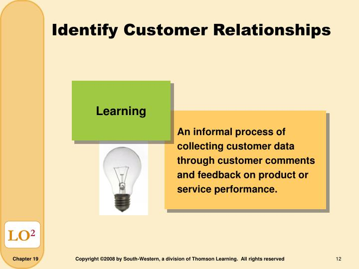 An informal process of collecting customer data through customer comments and feedback on product or service performance.