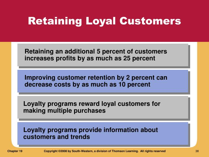 Retaining Loyal Customers