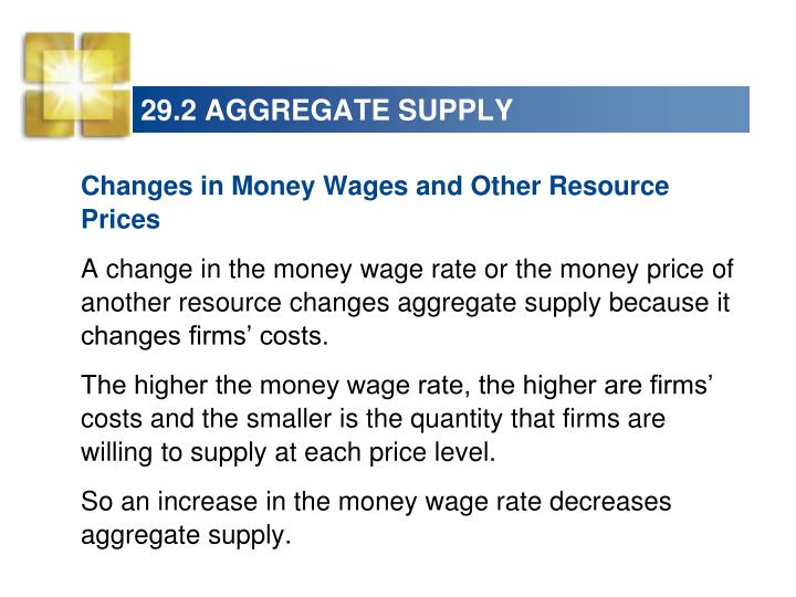 29.2 AGGREGATE SUPPLY