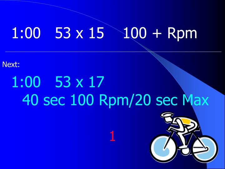 1:0053 x 15100 + Rpm