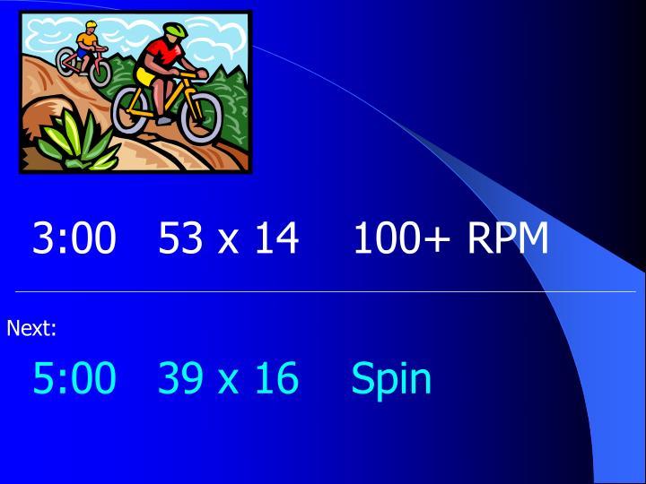 3:0053 x 14100+ RPM