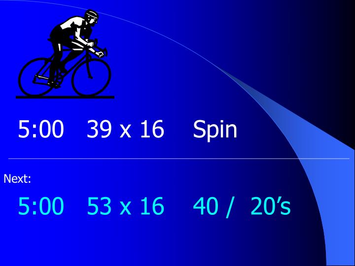 5:0039 x 16Spin